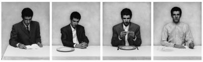 Le repas (gauche), 1996