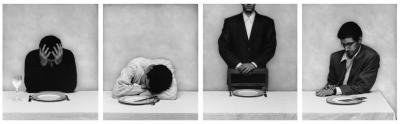 Le repas (droite), 1996